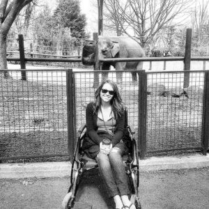 We went to the zoo during my first trip to DC for my LLMD appointment