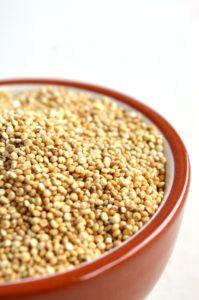 roasted vegetable, quinoa and lentil salad