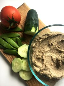 Basil Walnut Hummus