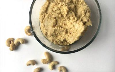 Coconut Cashew Hummus (plus more easy, healthy, snack ideas!)