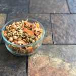 spiced chickpea carrot and ancient grain salad
