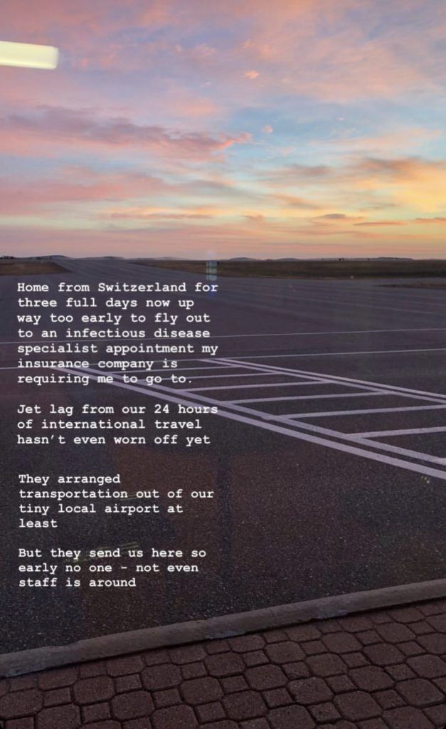 our local airport